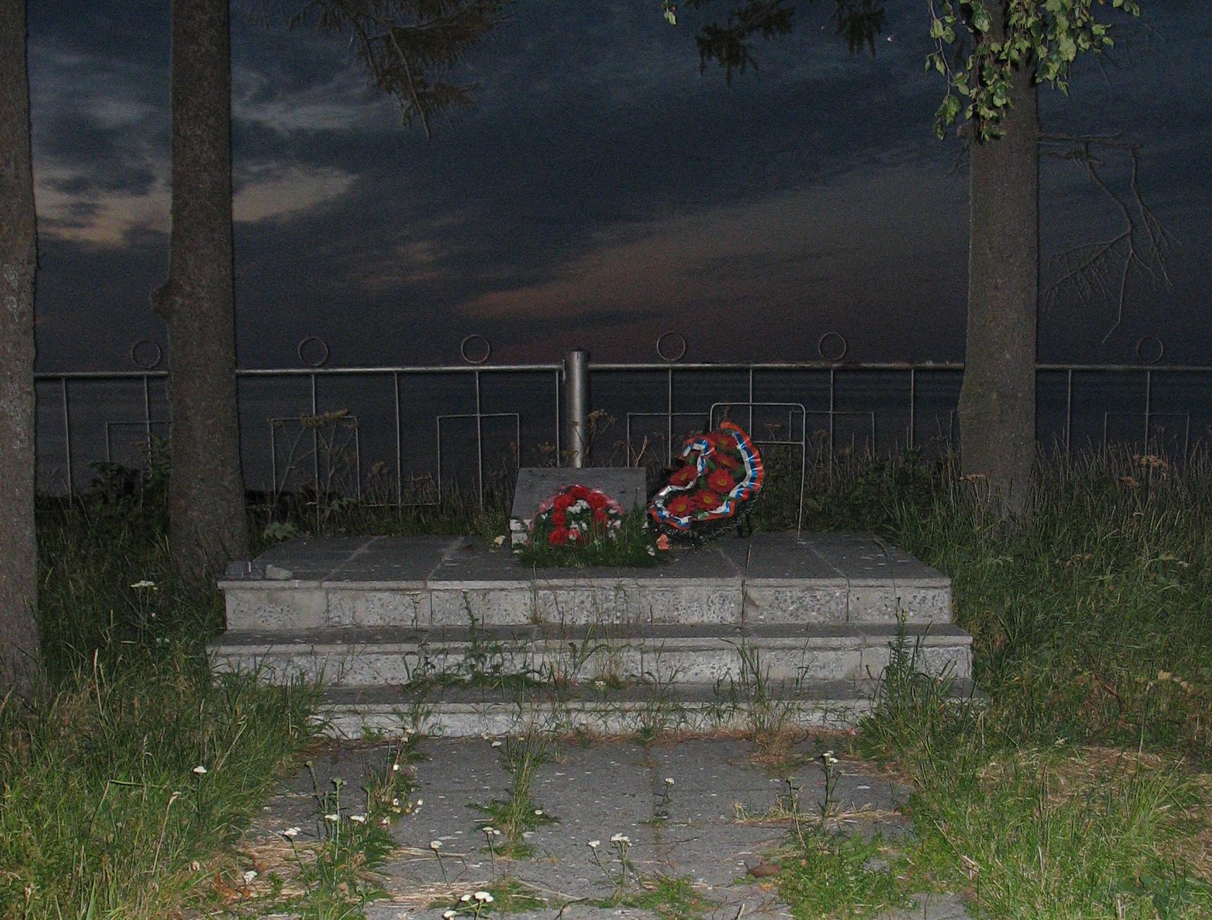Братская могила воинов, погибших в годы Гражданской войны