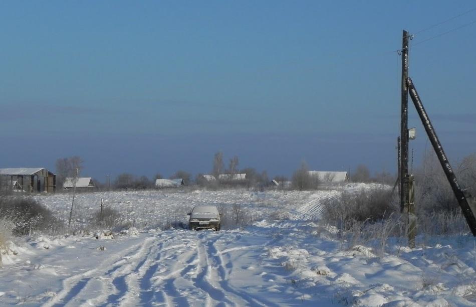 Памятное место, где в январе 1942 г. в тылу врага была высажена 8-я воздушнодесантная бригада, 4-го воздушнодесантного корпуса.