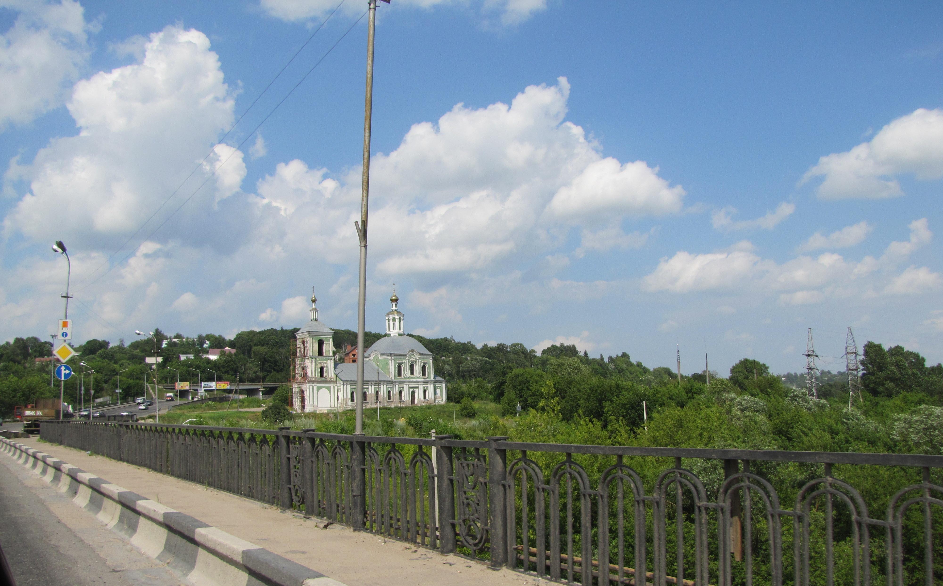 Памятное место, где в 1903 году состоялась маевка рабочих, в районе Крестовоздвиженской церкви