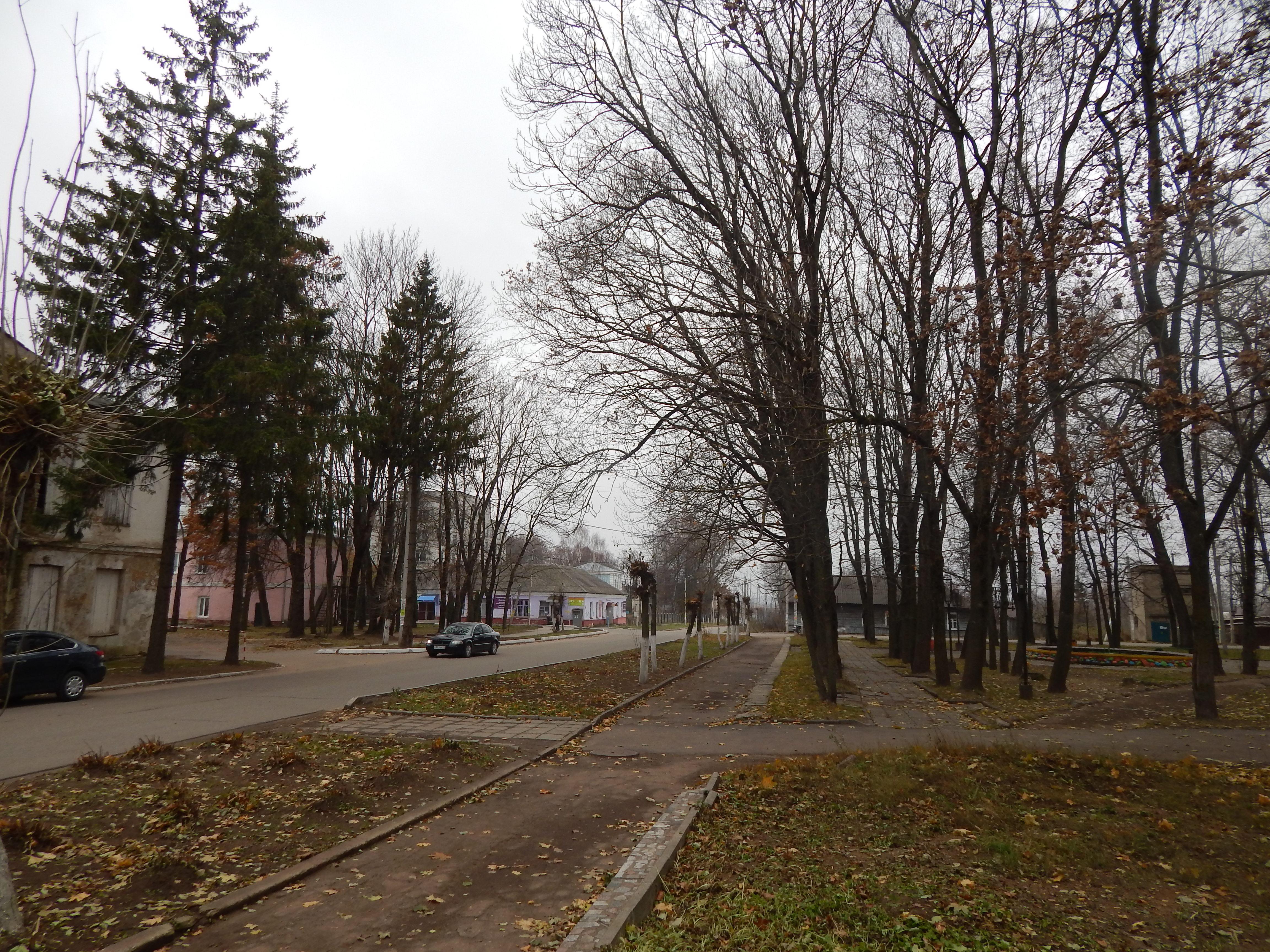 Памятное место, где в 1943 г. шли ожесточенные бои советских войск с немецко-фашистскими захватчиками при освобождении города и района