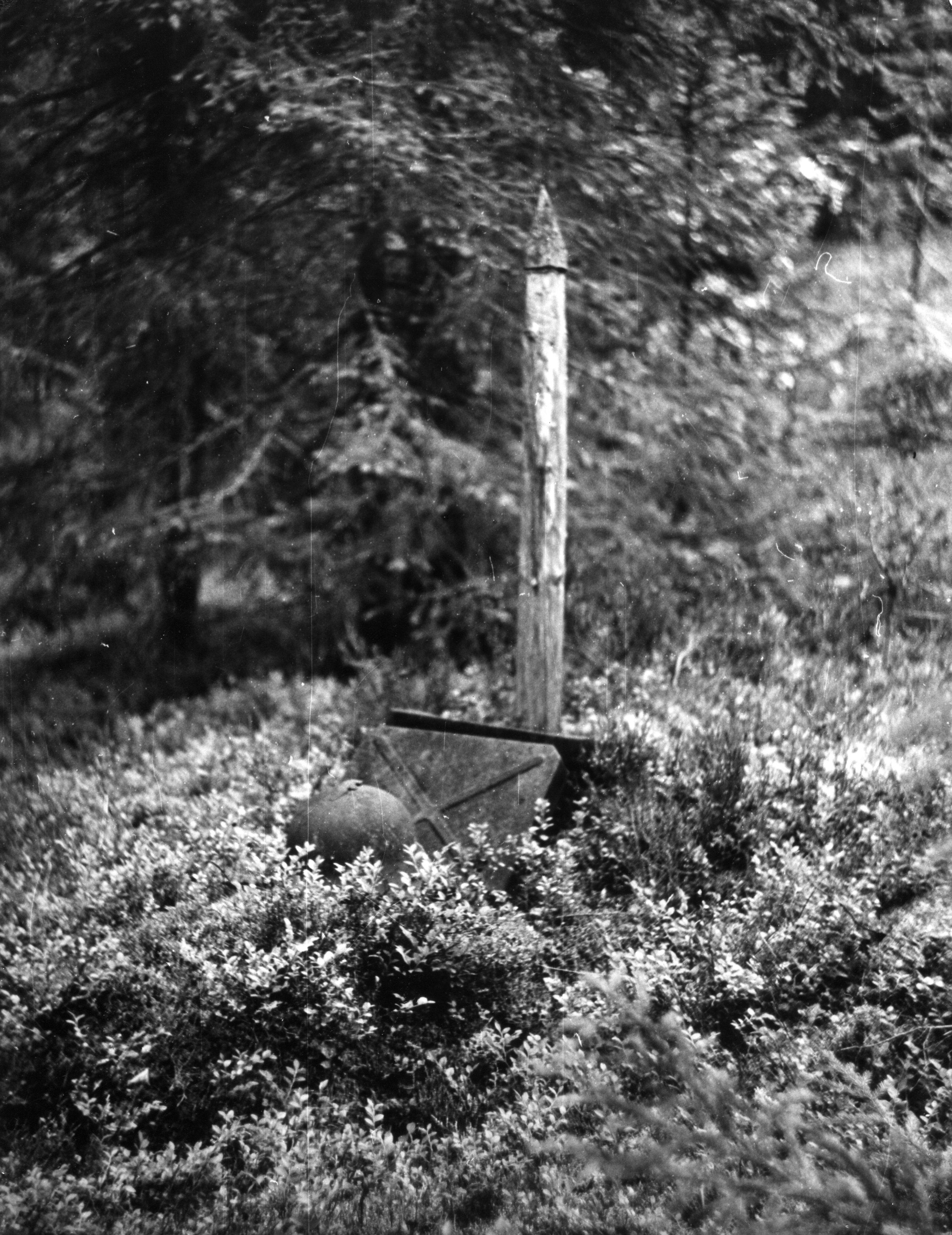 Могила неизвестного советского воина