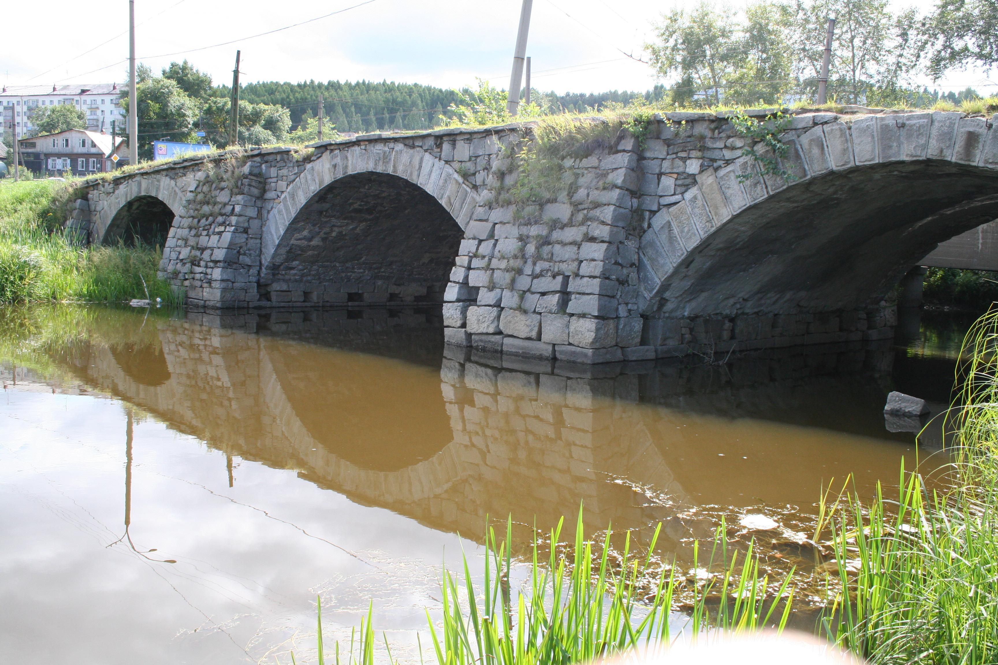 Мост через реку Патрушиха