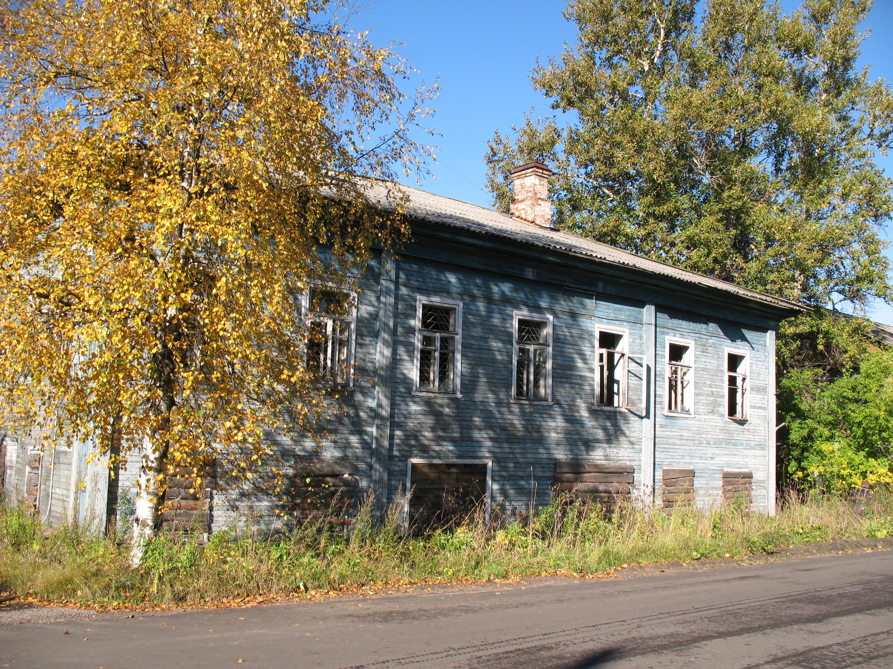 Дом, в котором в 1918 году размещался Олонецкий ревком
