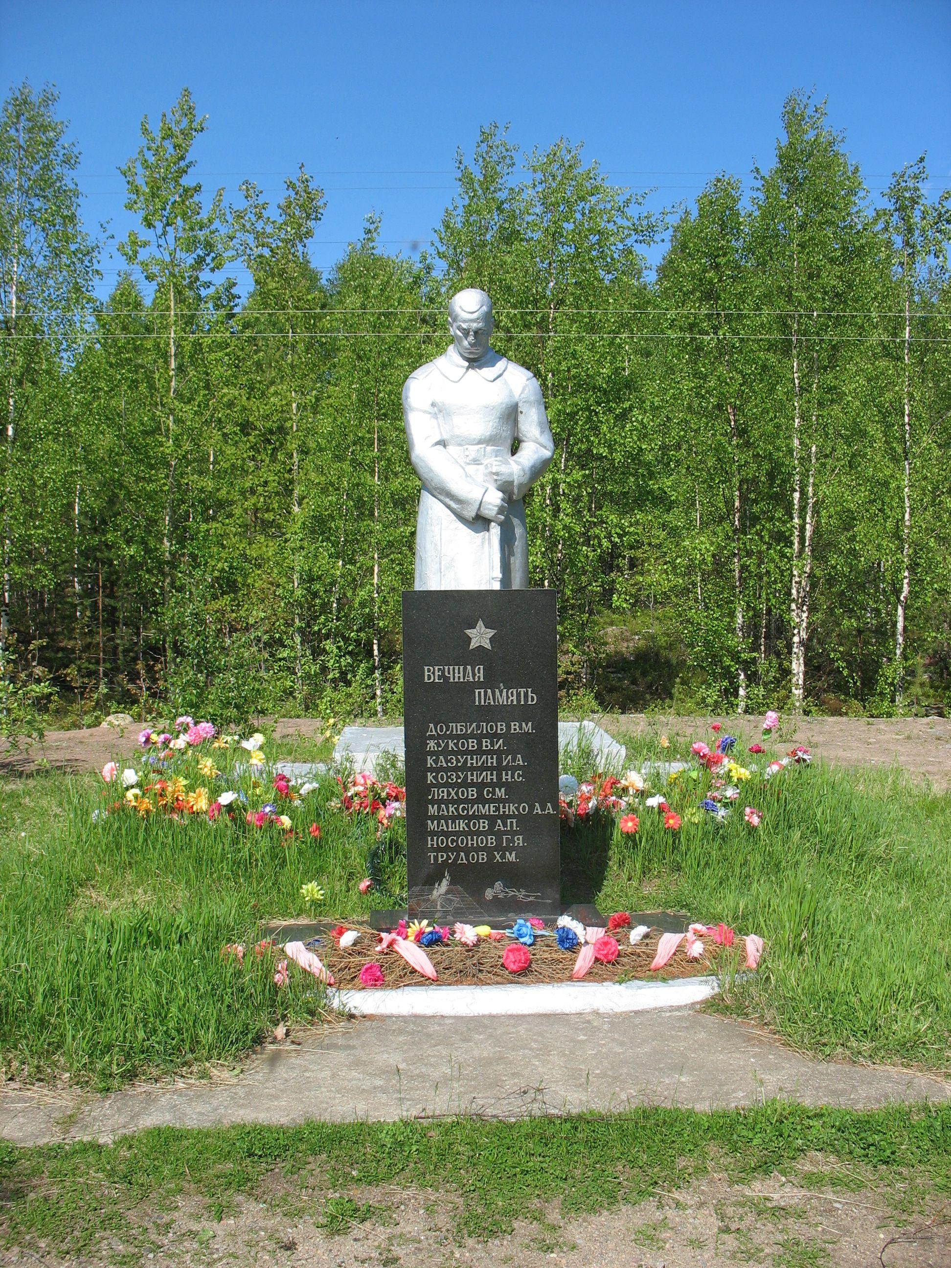 Братская могила воинов, погибших в годы Великой Отечественной войны 1941-1945 гг.